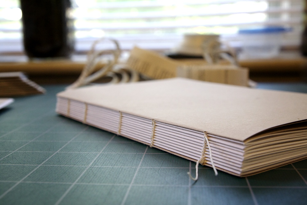How To Make A Book By Hand : State of the obsession address binding